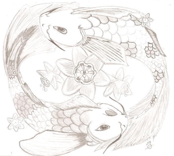 Pisces koi fish by littlexcreature on deviantart for Koi fish pisces