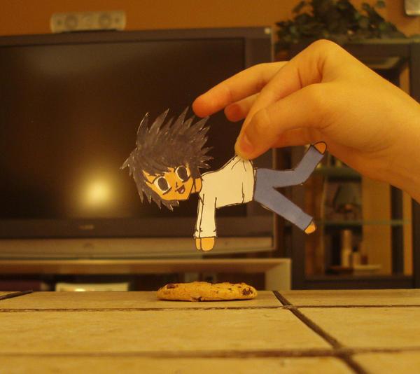 L wants a cookie