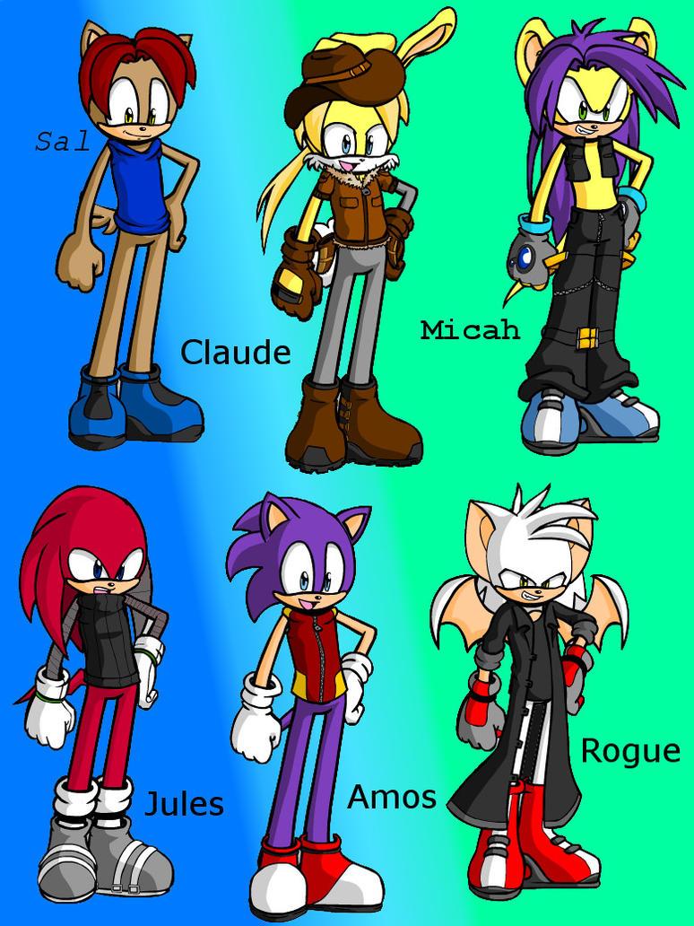 Deviantart Sonic Character Maker - #GolfClub