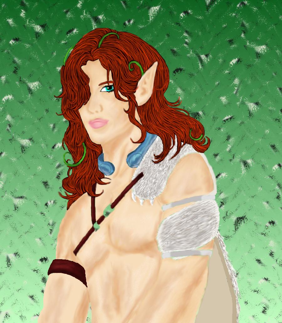 Earth Elf by yaneshwolfe