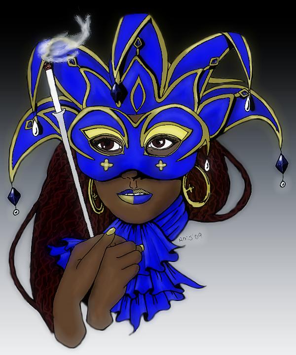 Golden Carnivale by yaneshwolfe