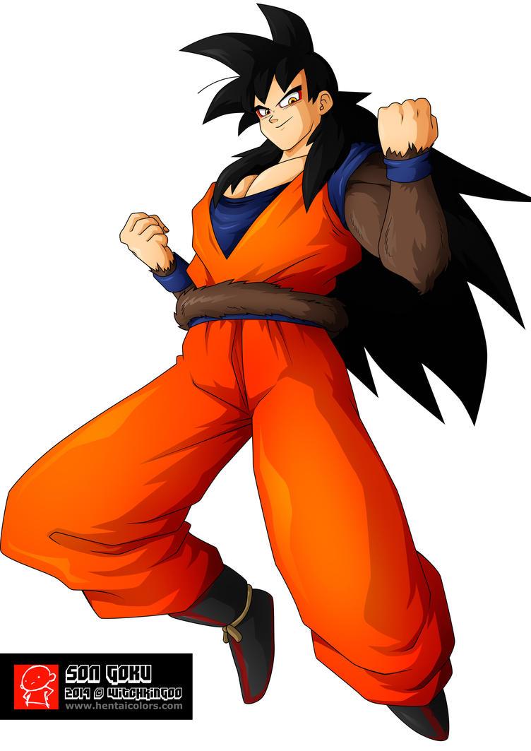 Great Saiyan Goku (Normal Form) by Cearenbow on DeviantArt