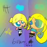 brat x bubbles speedpaint