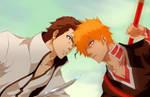 Collab - Ichigo vs Aizen