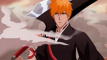 Fake Screenshot - Ichigo's new Zangetsu by Zanpakuto-Leader
