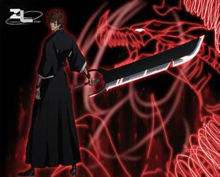 Death cloaked in crimson wind by Zanpakuto-Leader