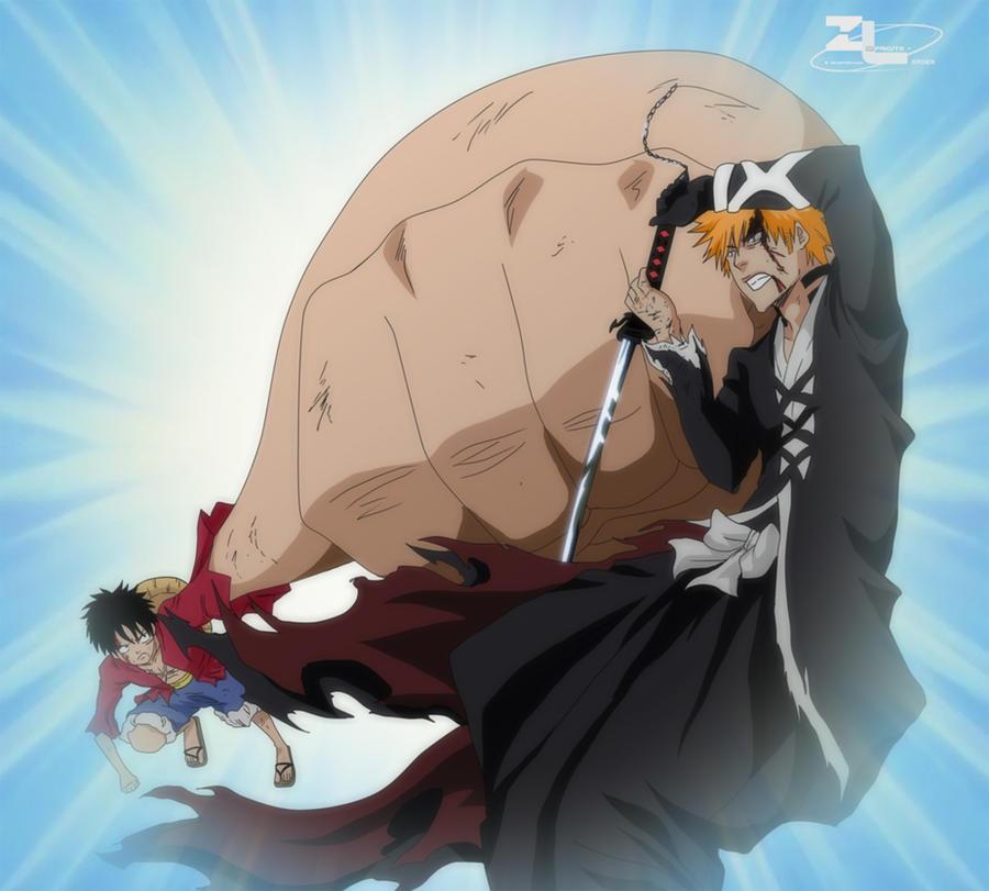 Ichigo vs Luffy Who would win? by Zanpakuto-Leader on DeviantArt