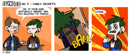 ISYWOODSTRIP No. 3 - Family Secrets
