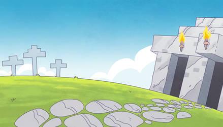 Minecraft Comic Trailer BG02