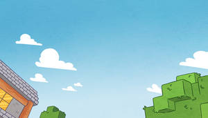 Minecraft Comic Trailer BG03