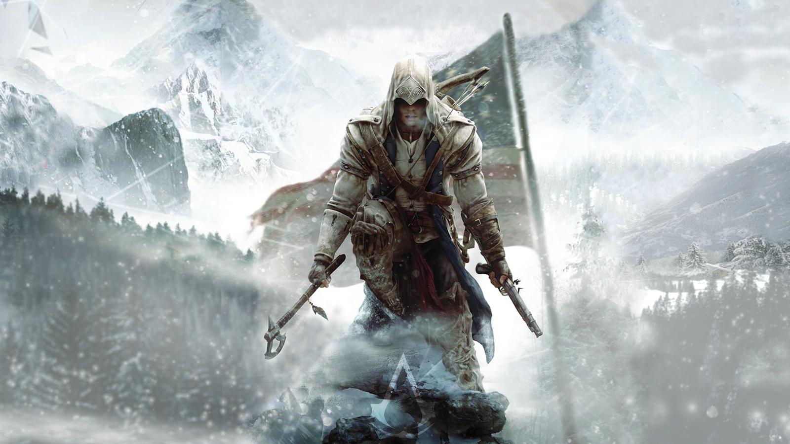 Assassins Creed 3 Wallpaper by PabloDoogenfloggen