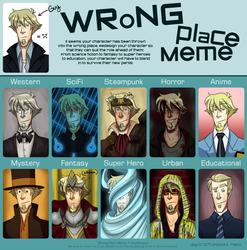 Wrong Place Meme - Guy by NurseNormal