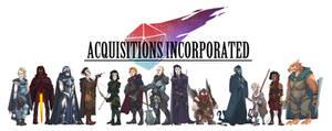 Acquisitions Inc. Cast