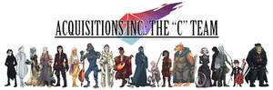 Acq. Inc. The 'C' Team Character Lineup