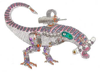 GatorShark Biohybrid Robot by biohazzart