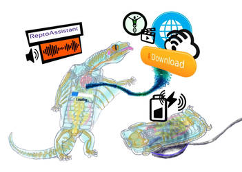 Augmented Reality Xenobiological Smartphone by biohazzart