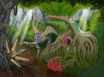 Terraformed Martain Forest by biohazzart
