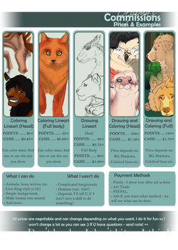 My Commissions Info (ON HOLD)