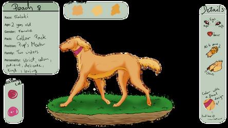 Peach | DOG [WL REF]