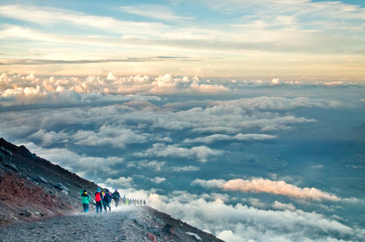 Mt. Fuji, Yoshida Trail, Japan by andrusm
