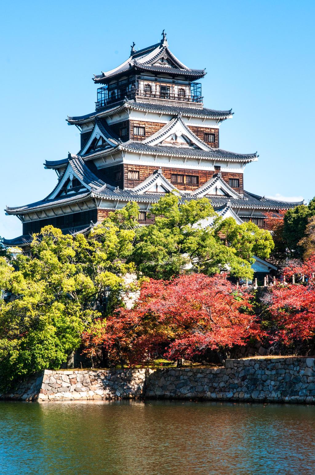 Hiroshima Castle, Hiroshima, Japan by andrusm on DeviantArt