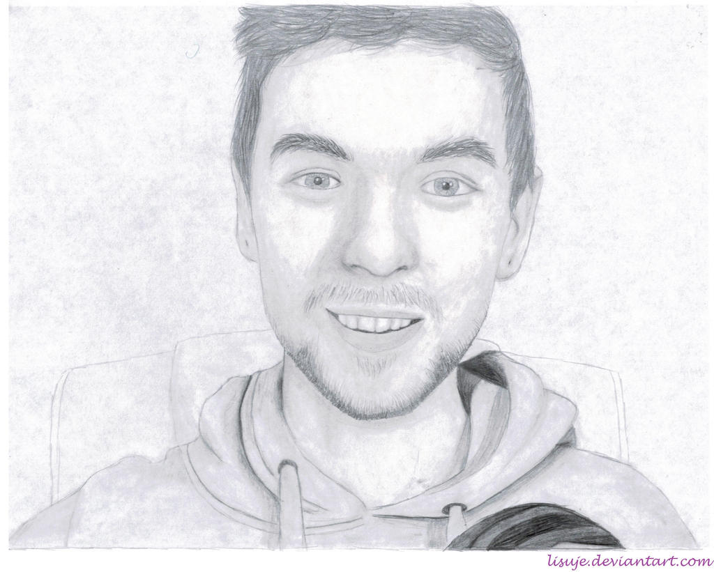 Jacksepticeye Pencil Sketch 7 By Lisuje Jacksepticeye Pencil Sketch 7 By  Lisuje