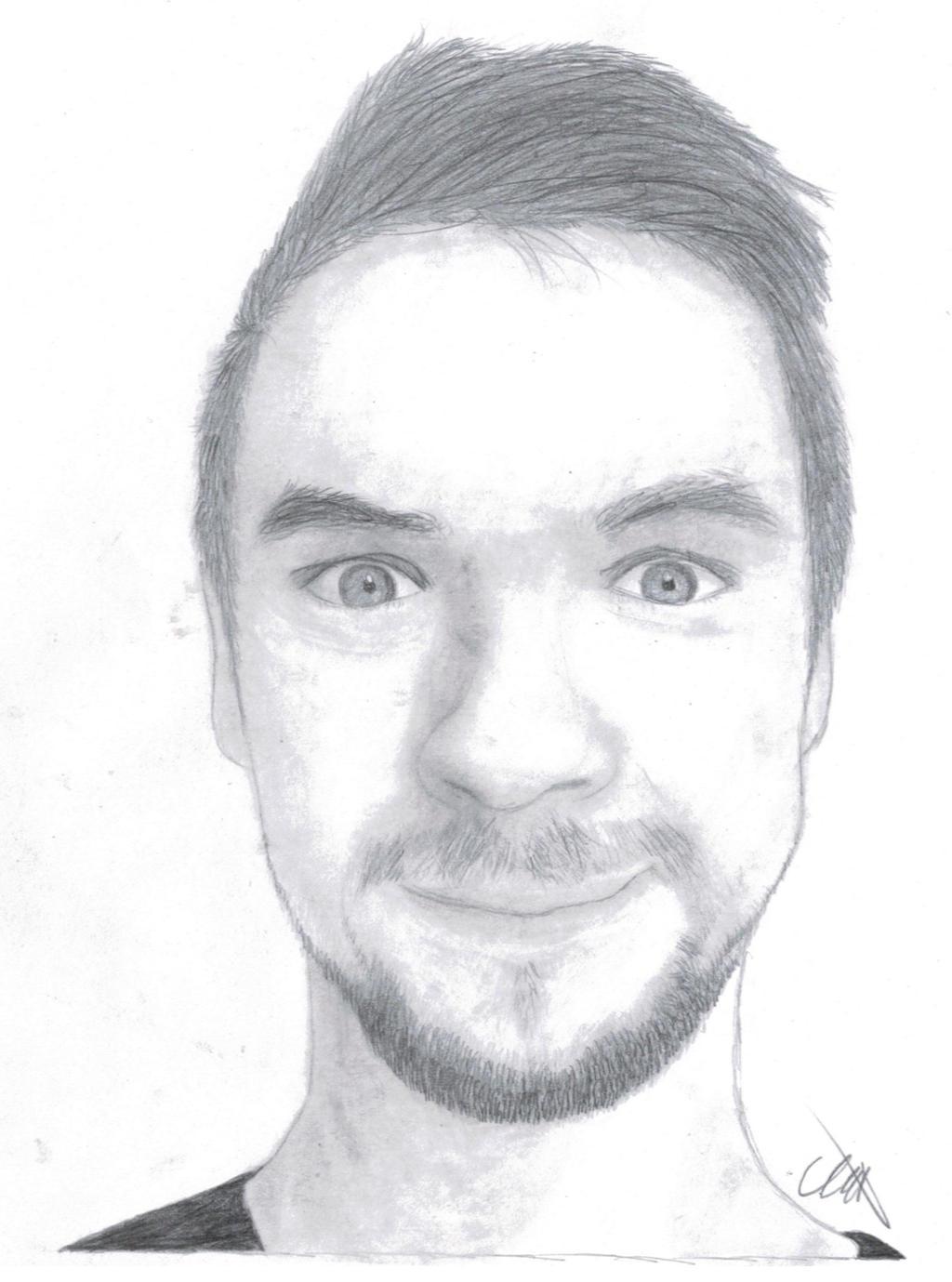 Jacksepticeye Pencil Sketch 12 By Lisuje How To Draw Jacksepticeye