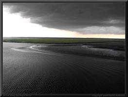 Storm Along the Marsh River by renaissanceman3