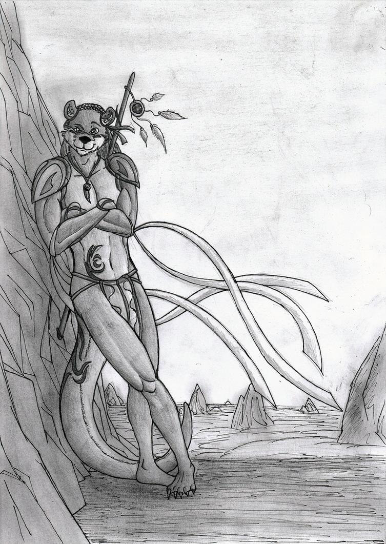 Kini, Master Fisherman by Umpherio