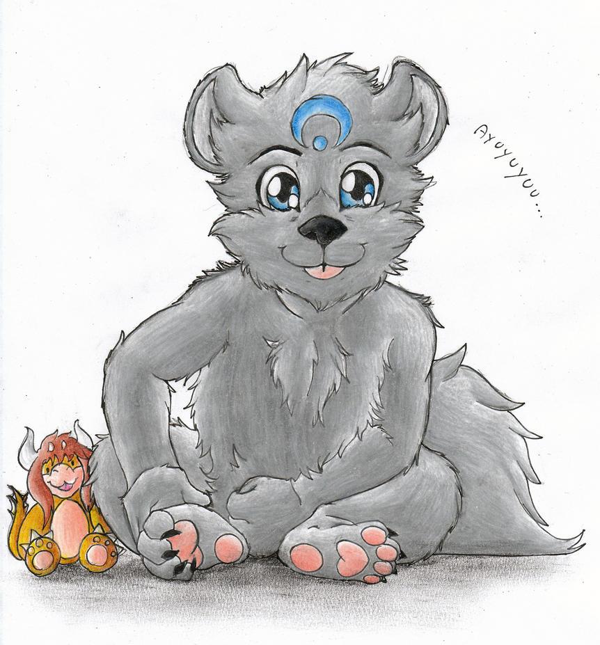 Little Ayu :3 by Umpherio