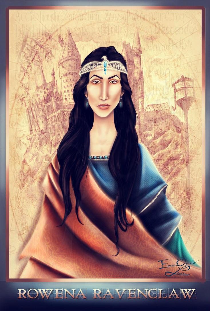 Rowena Ravenclaw: Co-Founder of Hogwarts by emmanuel7