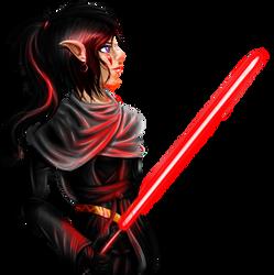 Starwars OC: Athena by Rubysmooby