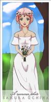 Sakura Uchiha- Wedding photo by Cloaked-Starlight