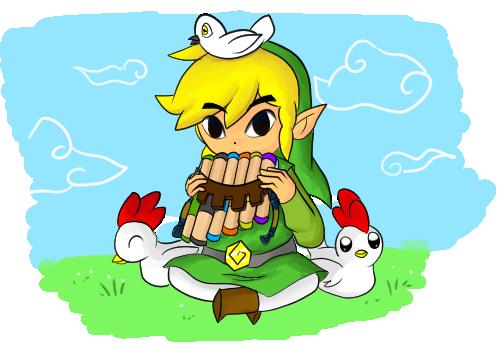 Zelda : Spirit Tracks - Song of Birds by LinkofSkyWind
