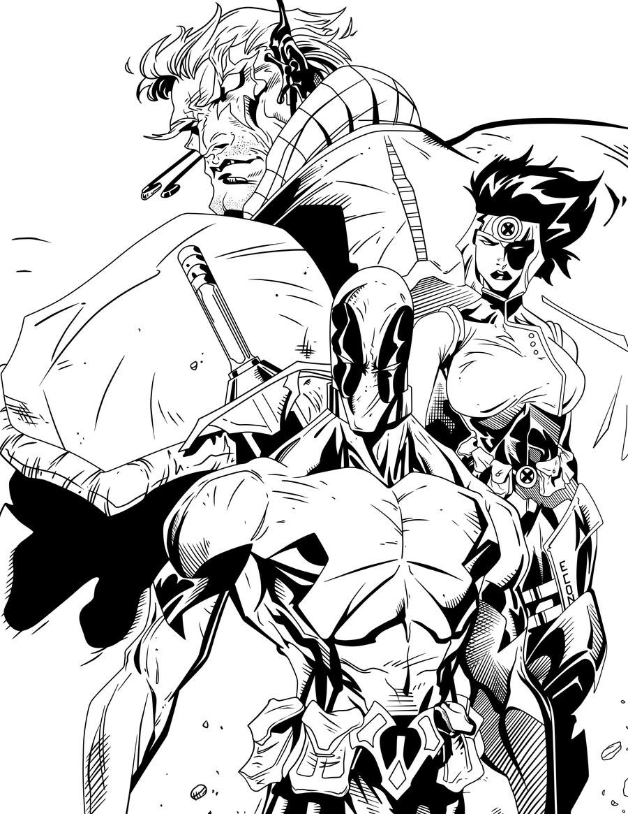 DC Trinity Sanchez Digital Ink by frostdusk on DeviantArt