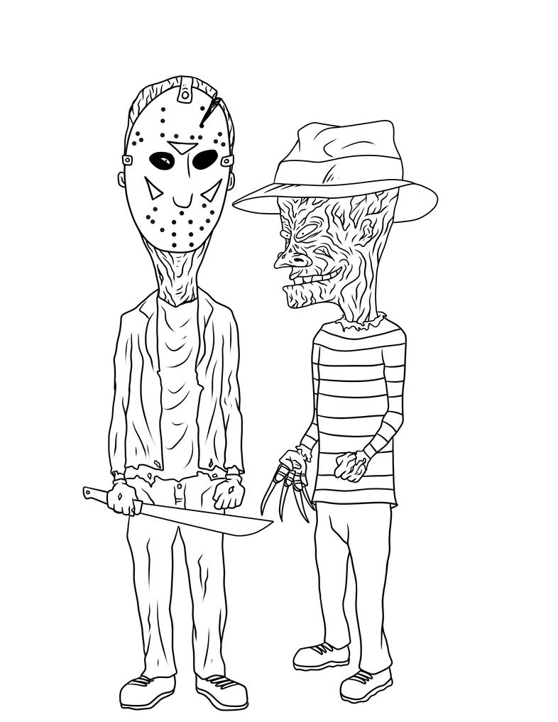Beavis And Butthead Coloring Pages