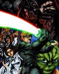 Star Wars Colored 2 by frostdusk