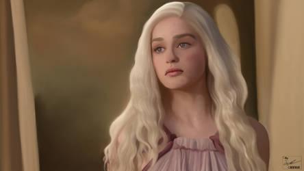 Daenerys Targaryen by frostdusk