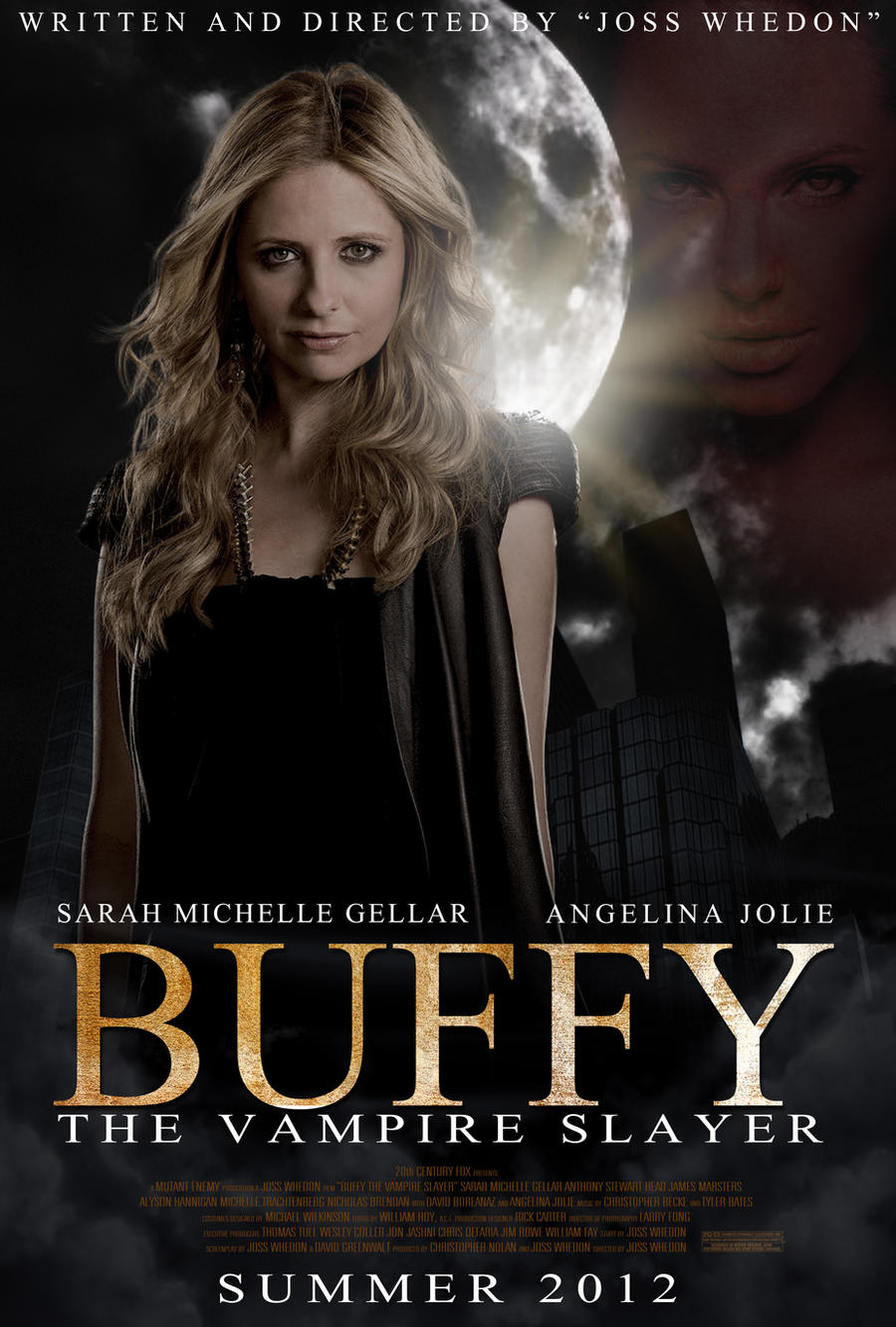 buffy movie poster by frostdusk on deviantart