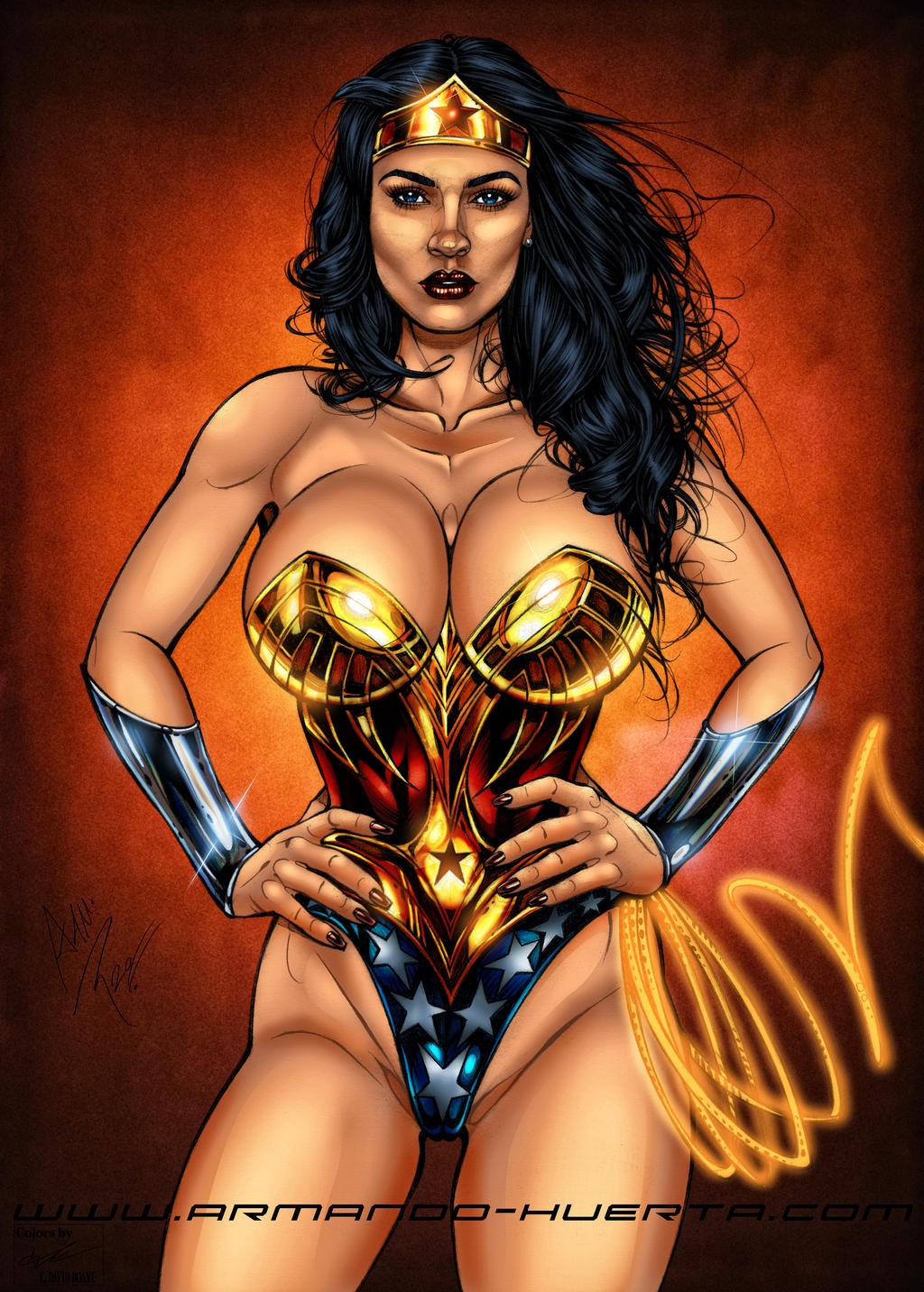 Wonder Woman Contest by frostdusk