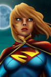 Supergirl painting