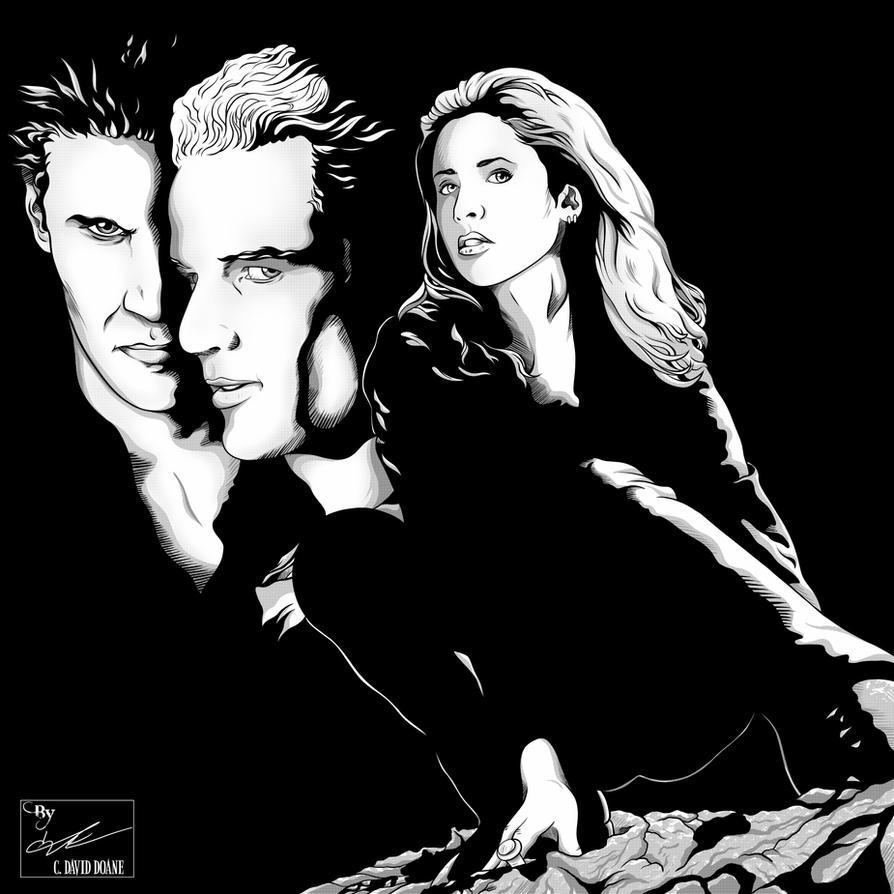 Buffy Spike Angel By Frostdusk On DeviantArt
