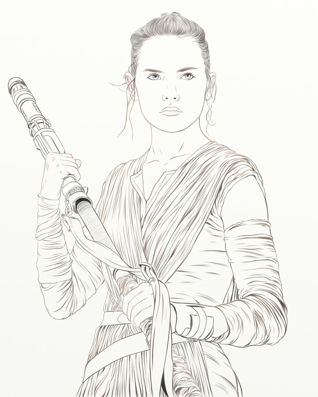 Rey by frostdusk