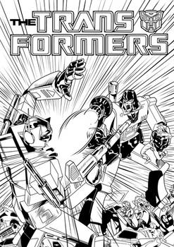 Transformers Comic Cover
