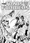 Transformers Comic Cover by frostdusk
