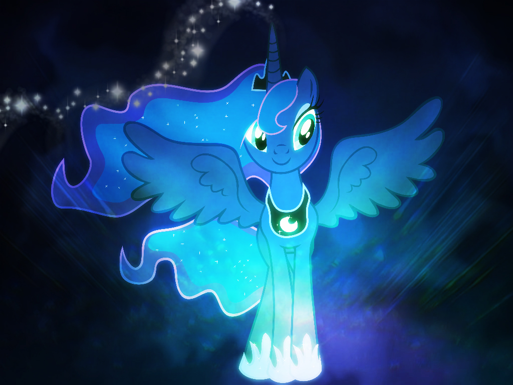 Princess Luna Wallpaper By Melodieaw On DeviantArt