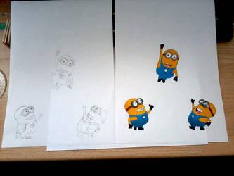 Despicable Me design-4-canvas