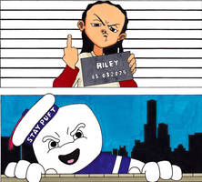 Riley and Stay Puft