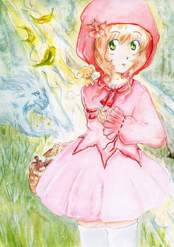 Red Little Riding Hood Sakura