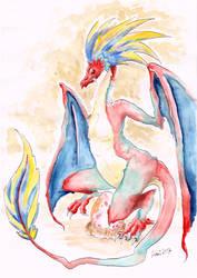 Dragon Mother by Akai-lein